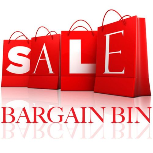 bargain bin sml