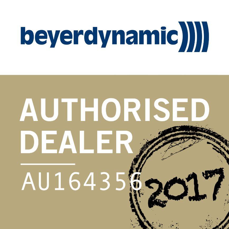 Beyerdyamic Authorised Dealer Stamp