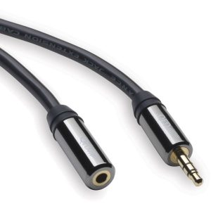 QED 3.5mm headphone extension cable