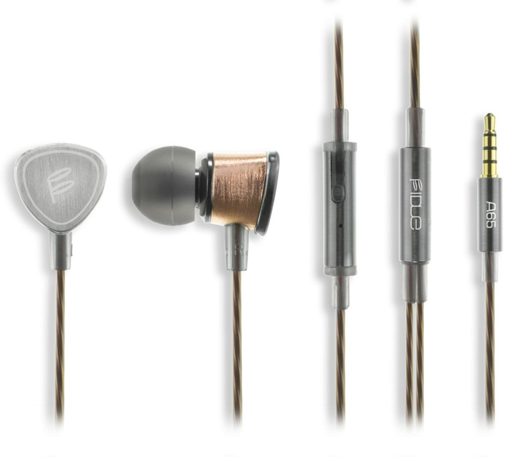 Fidue A65 Gold Earphones