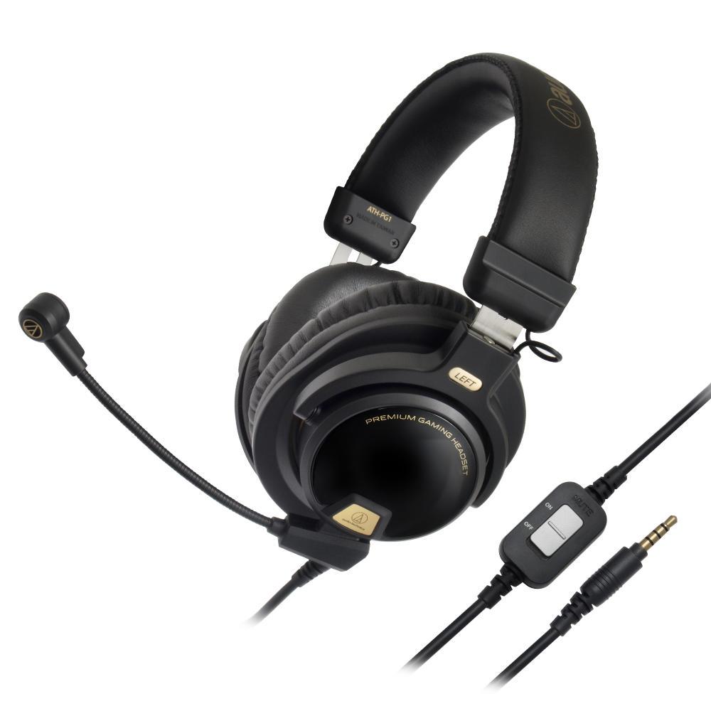 Audio Technica Ath Pg1 Gaming Headset Headphonic M20x Black