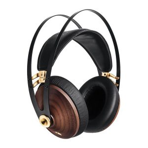 Meze Audio 99 Classics Walnut Wood Headphones Gold